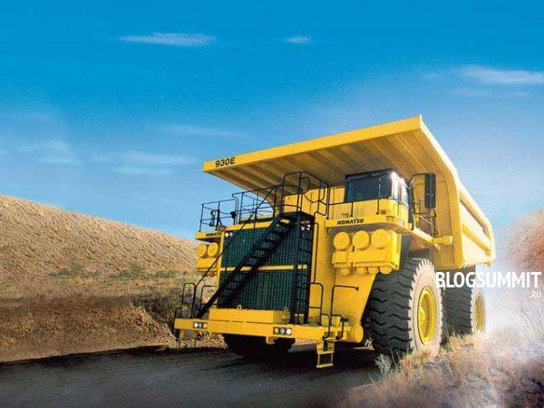Самая большая машина-самосвал в мире