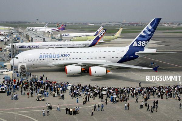 Самолет Аэробус А380