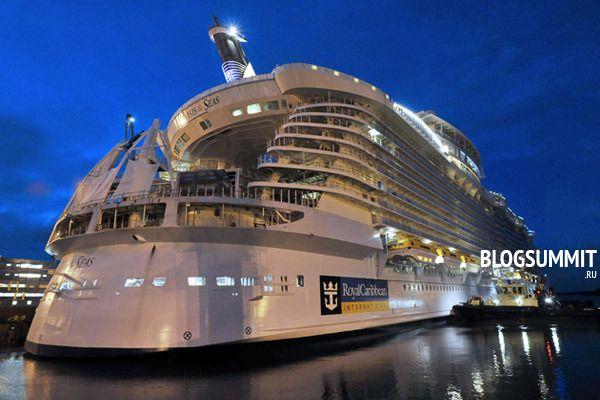 Royal Carribean – самая большая машина-лайнер в мире