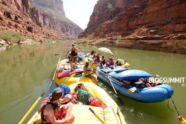 Спуск по реке