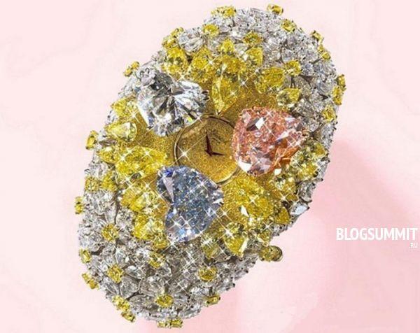 Самые дорогие часы усыпаны бриллиантами