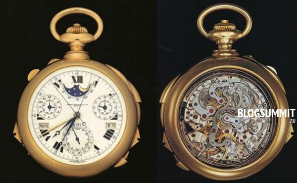 Самые сложные часы