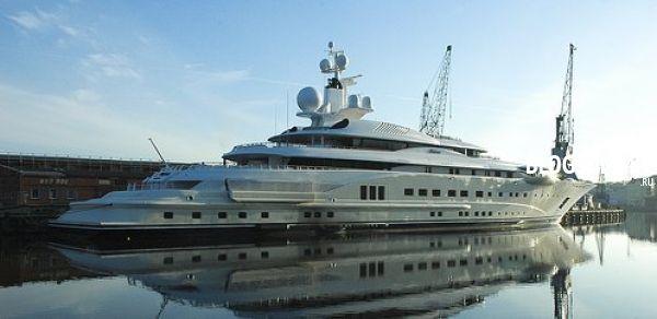 Самая дорогая яхта Дубай