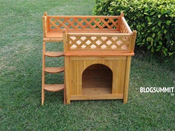 Индивидуальный домик для кошки сделанный своими руками