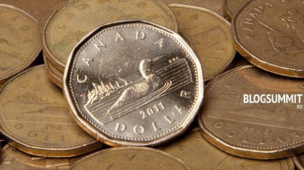 Канадский доллар - монета