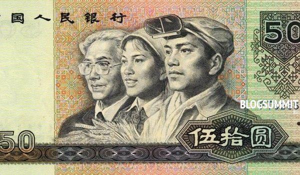 Банкнота в пятьдесят юаней