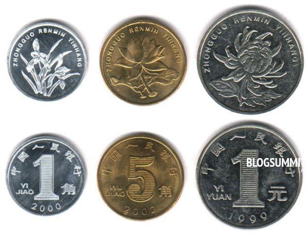 Настоящие монеты Китая
