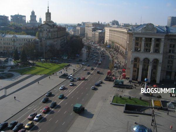 Улица Крещатик - главная достопримечательность Киева
