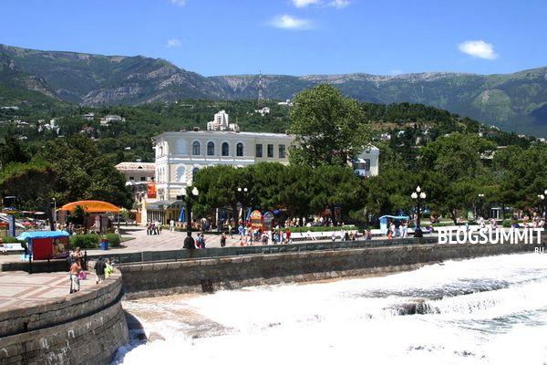 Город Ялта - жемчужина Украины