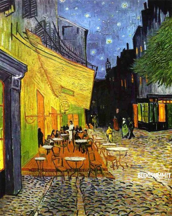 Ван Гог - Терраса кафе ночью