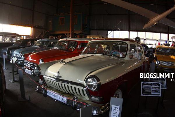 Экспонаты Музея индустриальной культуры