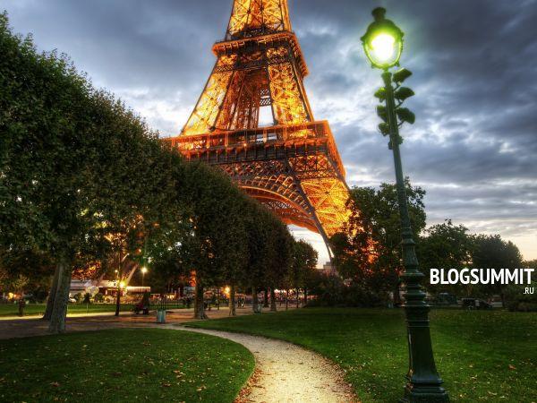 Сейчас нельзя представить Париж без Эйфелевой Башни