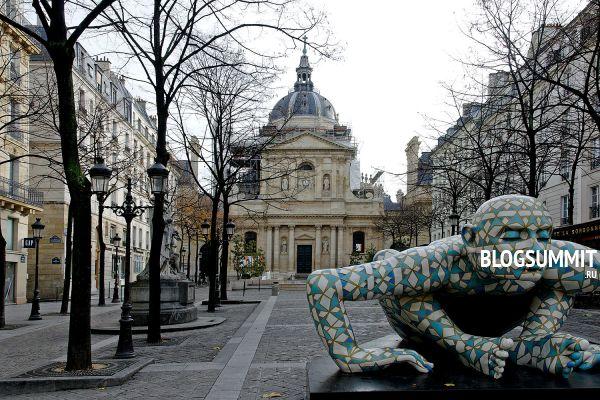 Бульвар Сен-Мишель – излюбленное место творческих людей, Париж, Франция