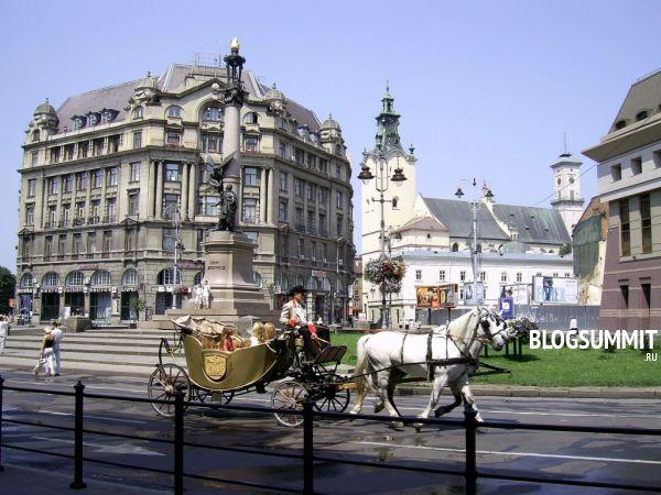Проспект Свободы – деловой центр Львова