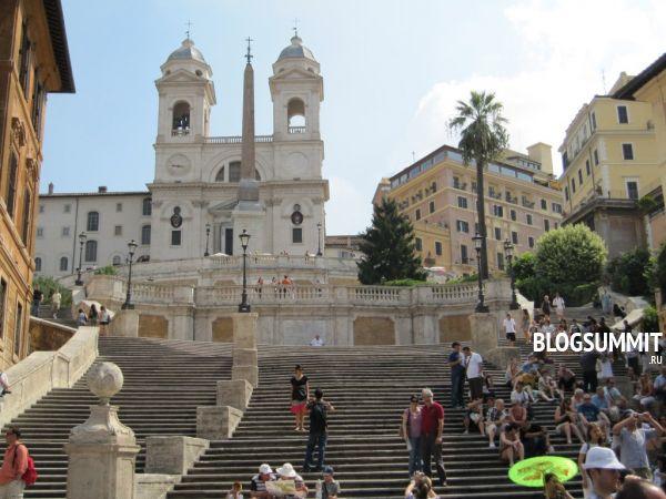 Церковь Тринита-деи-Монти – испанское наследие Италии
