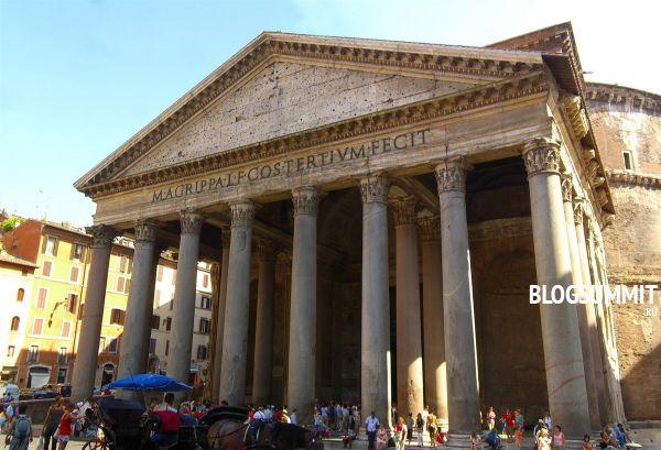 Пантеон – главный католический храм современности, Рим, Италия