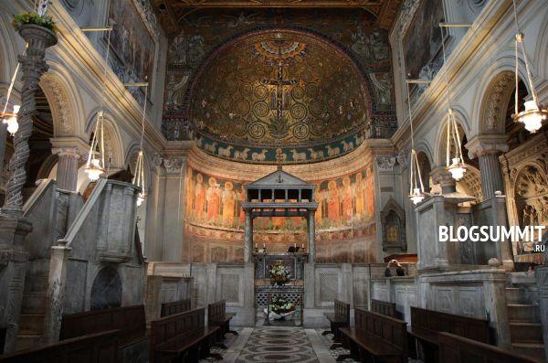 Метрополитен Рима – современное произведение искусства
