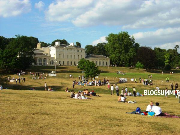 Изумрудный парк в центре Лондона, Великобритания