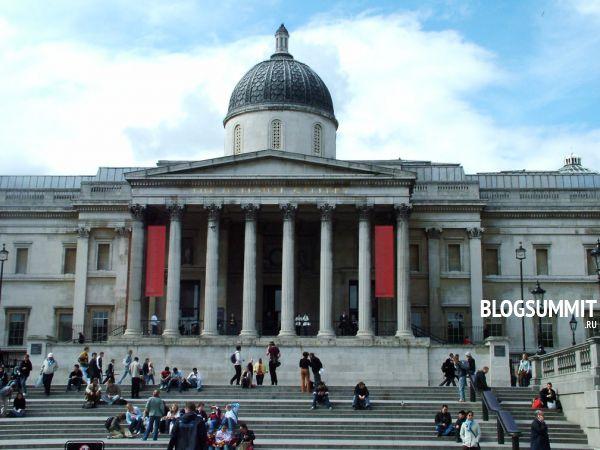 Национальная галерея – излюбленное место культурного отдыха лондонцев