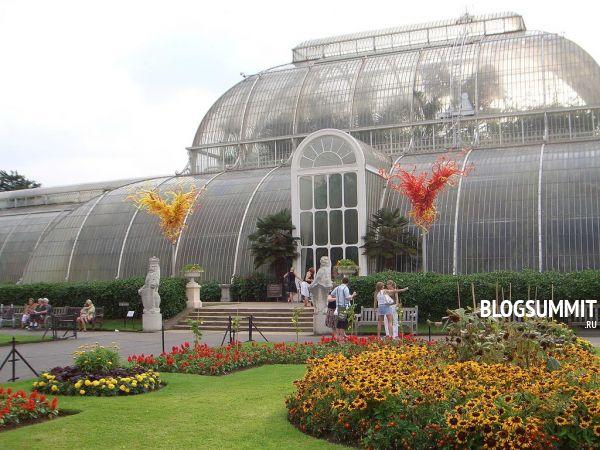Ботанический сад в Кьютаит очарование и романтику, Лондон, Великобритания