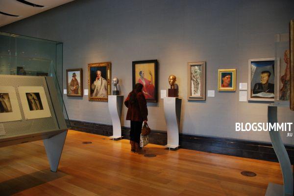 Уникальные работы можно увидеть в Национальной портретной галерее Лондона, Великобритания