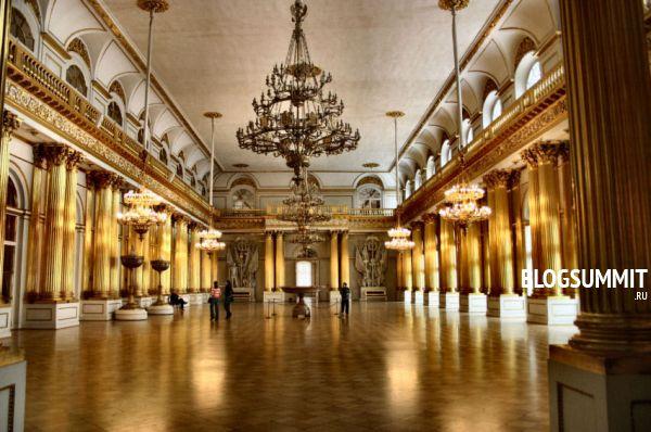 Великолепие Эрмитажа никого не оставят равнодушным, Санкт-Петербург