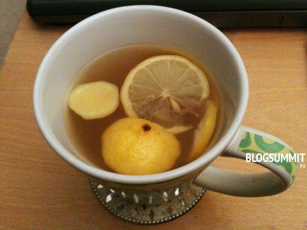 Чай с лимоном – незаменимое средство от простуды