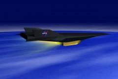 Самый быстрый самолет в мире - гиперзвуковой X-43A