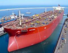 Самый большой корабль - танкер Knock Nevis