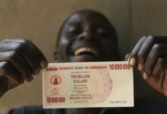 Валюта Зимбабве. Феноминальная инфляция